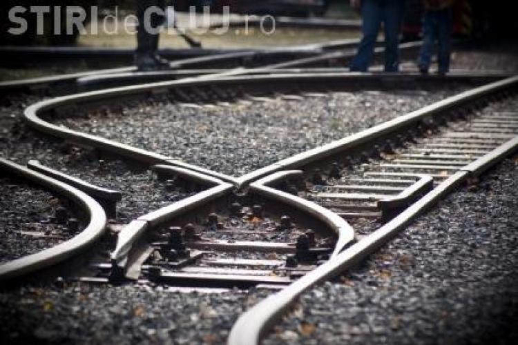 Au furat 700 de kg de sina de cale ferata din Depoul CFR Cluj