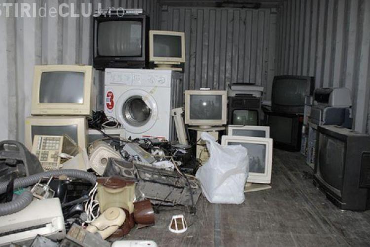 Cluj - Colectare de deşeuri de echipamente electrice şi electronice