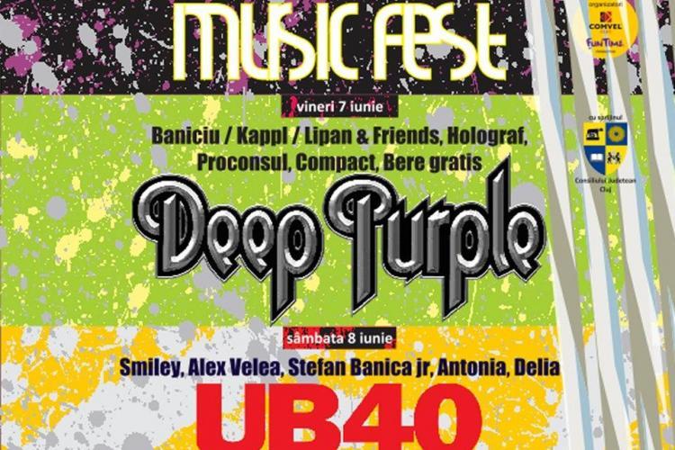 Cum va fi poziționată scena la concertele Deep Purple și UB 40 - VIDEO