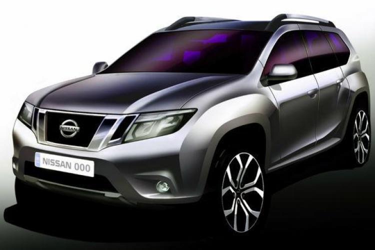 Cum arată Nissan -ul conceput pe platforma Duster - FOTO