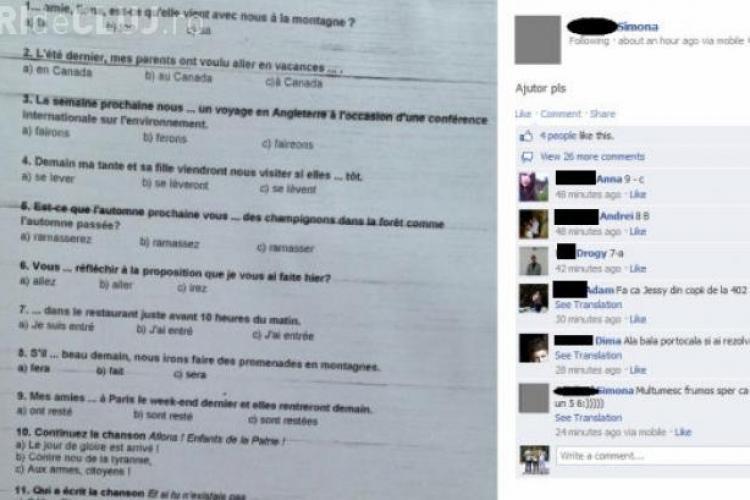 O româncă a inventat un nou mod de a copia. A folosit Facebook -ul