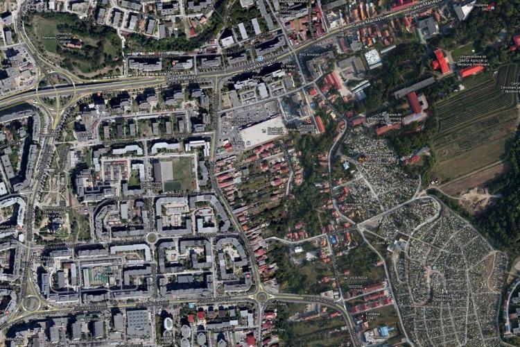 Modificări de circulație pe strada Câmpului din Mănăștur