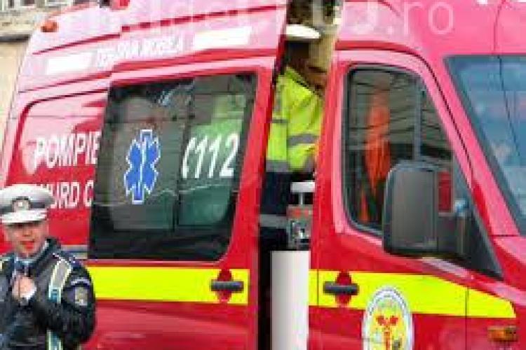 Un autobuz a lovit o masina pe strada Motilor din Cluj-Napoca. Vinovat a fost soferul autobuzului!