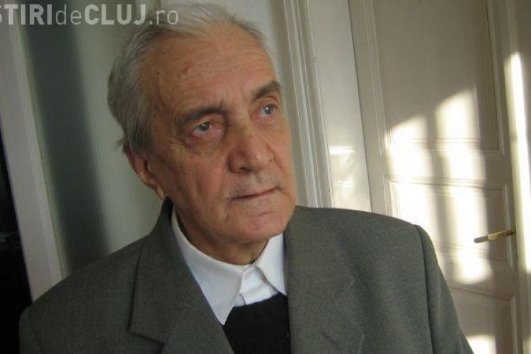 Veteranul presei clujene, Virgil Lazăr, a primit titlul de cetăţean de onoare al județului