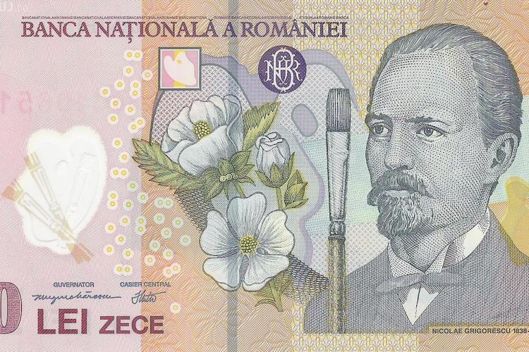 O monedă din argint de 10 lei va fi pusă în circulație la Cluj FOTO
