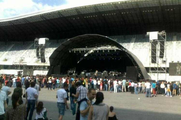 A început a doua zi de concerte pe Cluj Arena. Seara se încheie cu UB 40 - FOTO