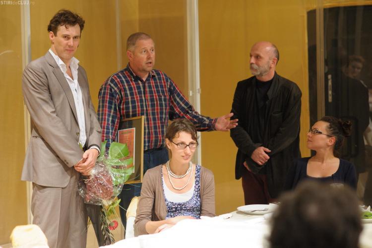 "Actorul clujean Ervin Szűcs a primit premiul ""Bánffy Miklós"""
