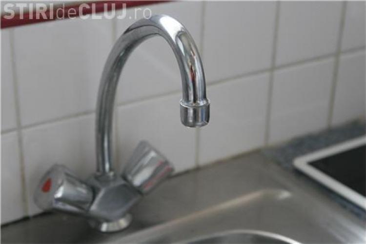 Apa va fi oprită, luni, pe mai multe străzi din Cluj