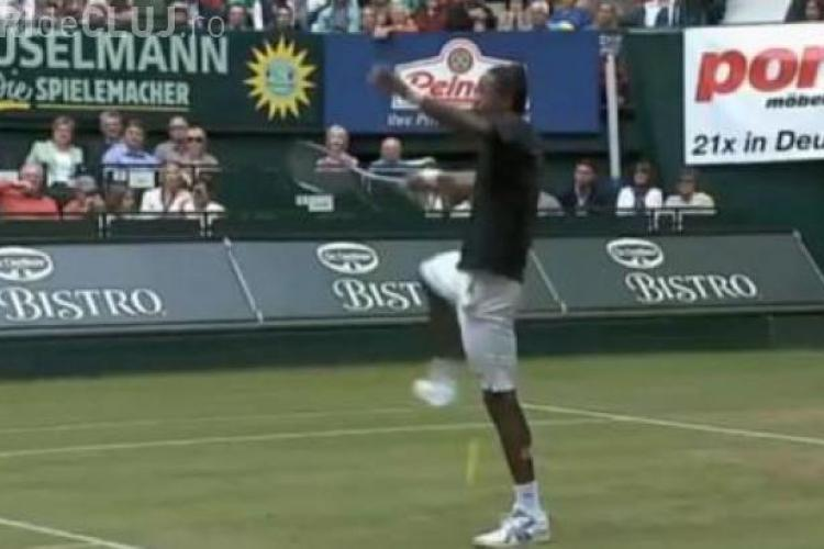CLIPUL ZILEI: Lovitura anului în tenis VIDEO