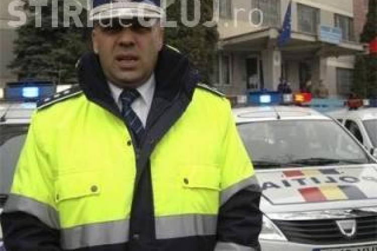 Şeful Poliţiei Rutiere Cluj, trimis în judecată pentru fals şi înşelăciune