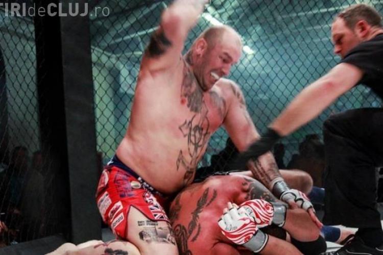 K.O. violent al lui Cătălin Zmărăndescu în lupta pentru titlul mondial la MMA VIDEO