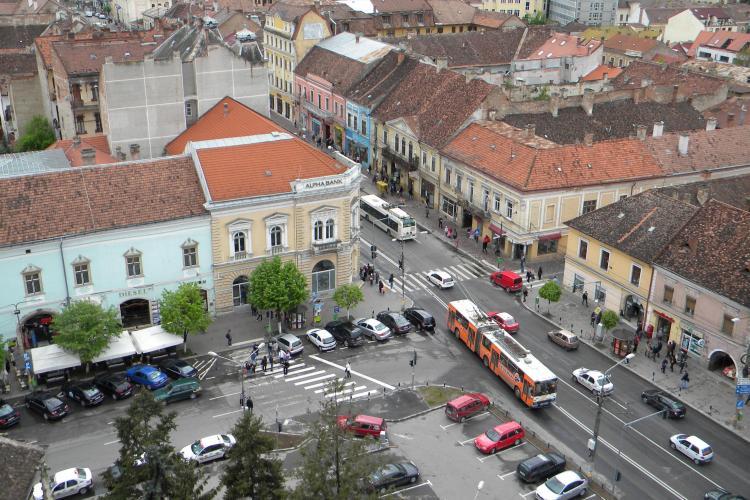 Trafic restricționat în Cluj-Napoca timp de 4 zile. VEZI zona vizată