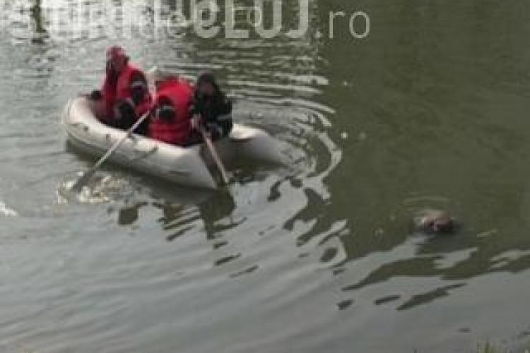 Clujean căzut în Someș, în Grigorescu, în zona garajului RATUC