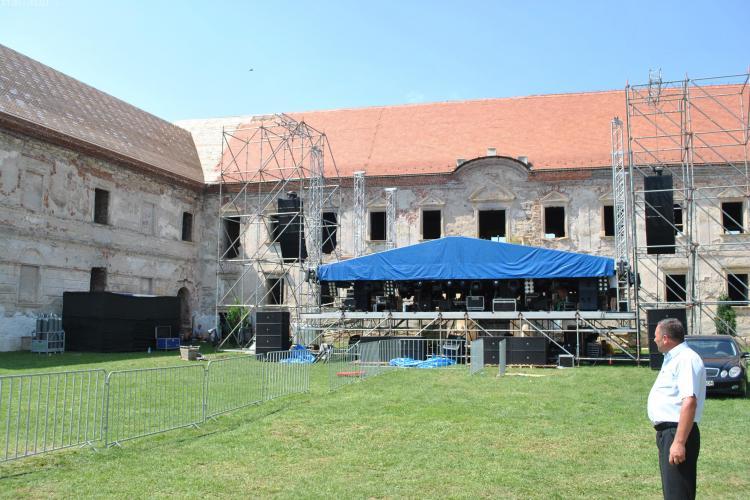 """Cum arată Castelul Bonțida, locul în care se organizează Festivalul """"Electric Castle"""" - FOTO"""