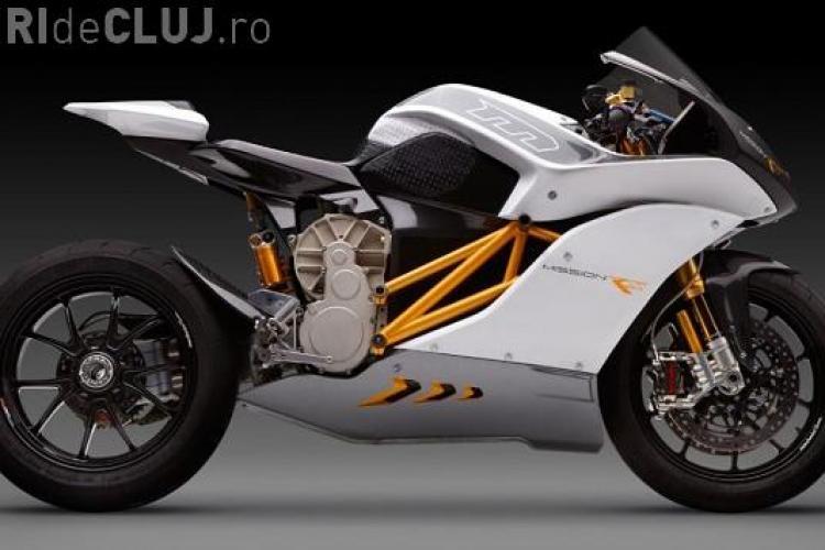 Mission RS este motocicleta electrică ce ajunge la 100 de km/h în numai trei secunde