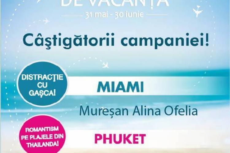 Iulius Mall îi trimite pe trei clujeni în vacanță la Miami, Phuket și Antalya(P)