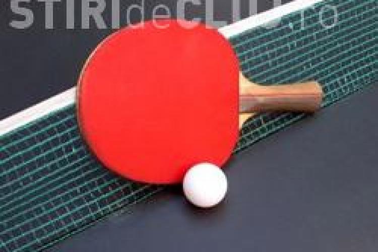 Un clujean de 13 ani a câstigat trei medalii la turneul balcanic de tenis de masă