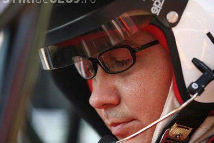 Boc, ironic la startul raliului de la Cluj: Mai bine era Ponta copilot aici, decât pilot la Palatul Victoria - VIDEO