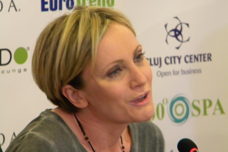 """Patricia Kaas la Cluj: """"Mă asemăn cu Edith Piaf"""" FOTO-VIDEO"""