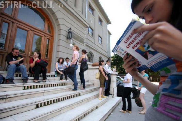 BAC 2013 CLUJ: Câți tineri nu s-au prezentat la proba de Limba Română