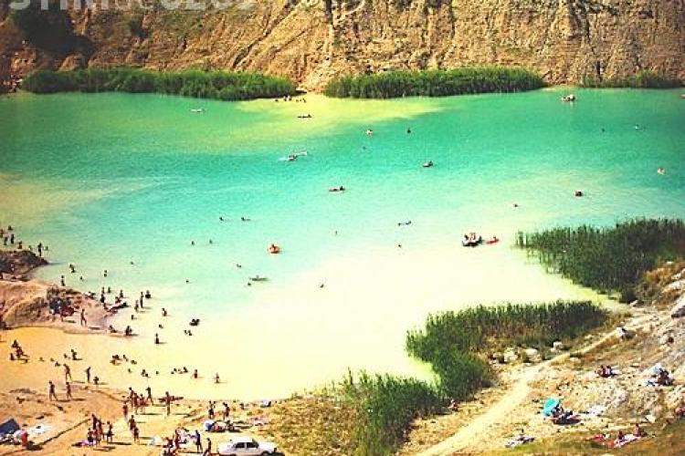 Laguna Albastra din Aghireșu - Cluj. Cum să ajungi acolo