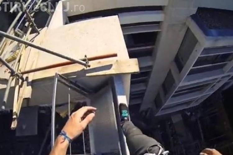 CLIPUL ZILEI: Cum arată lumea prin ochii practicanților de Parkour VIDEO