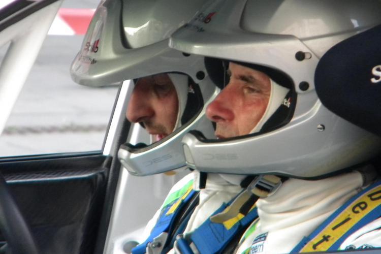 Bogdan Marişca a abandonat la raliul de la Cluj