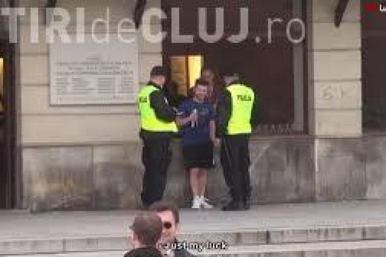 CLIPUL ZILEI: Cum să testezi condiția fizică a polițiștilor VIDEO