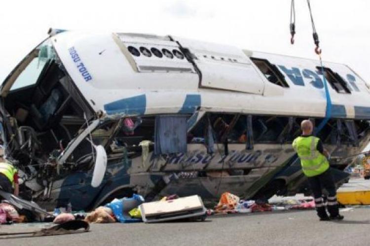 Accident cu un autocar românesc în Muntenegru! Numele răniților și la ce clinici au fost duși