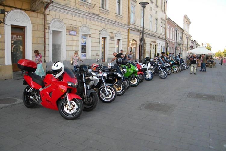 Motocicliștii au ieșit în marș la Cluj-Napoca: Suntem victime sigure pe șosele - FOTO