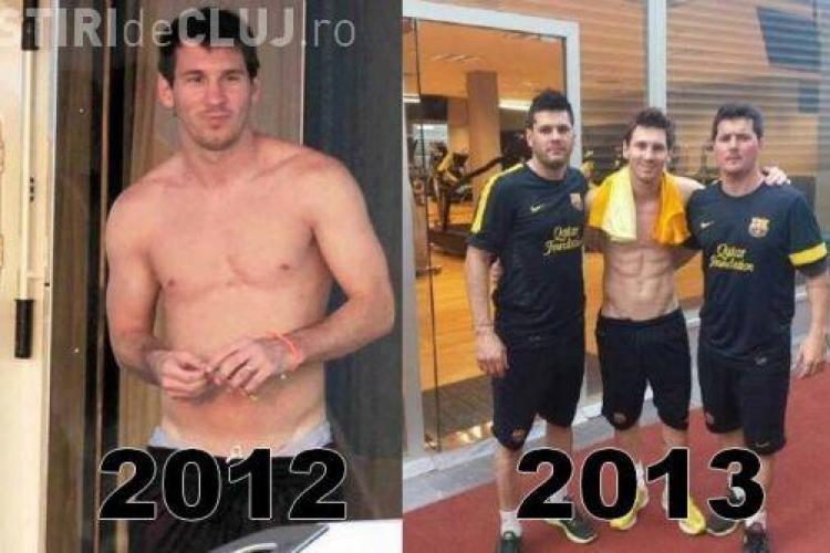 Messi s-a transformat într-un model în ultimul an! I-au apărut pătrățele pe abdomen - FOTO