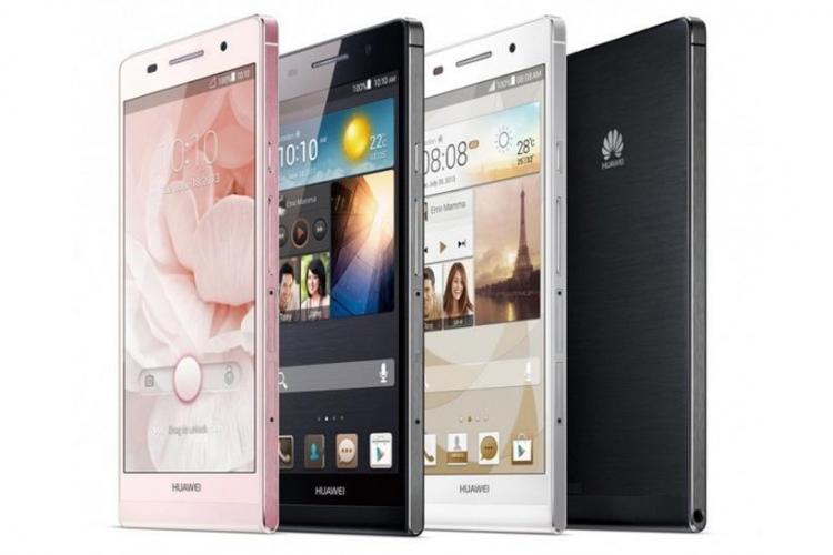 Huawei Ascend P6, cel mai subțire smartphone din lume
