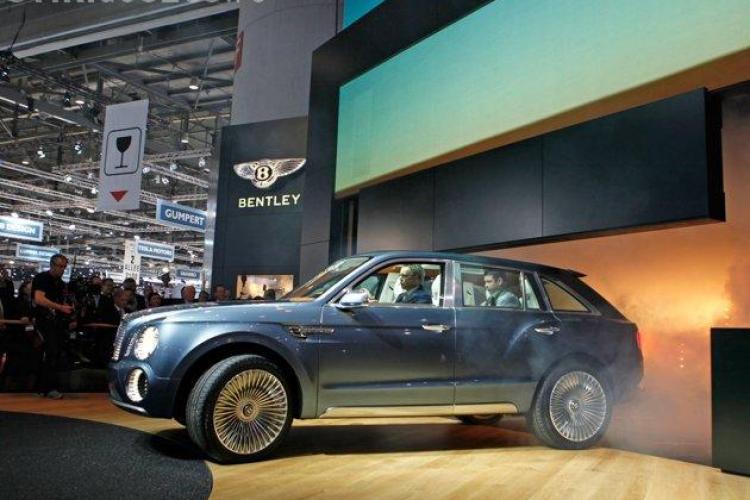 Bentley va produce CEL MAI SCUMP SUV din lume - FOTO SPECTACULOASE