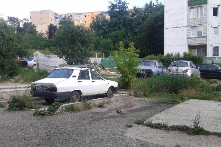 Clujenii protestează împotriva construirii unui bloc pe strada Gârbău