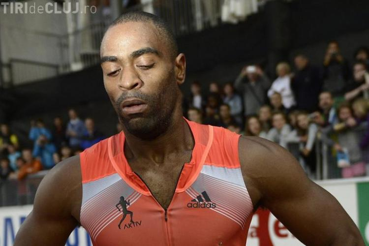 Sprinterul Tyson Gay, depistat pozitiv