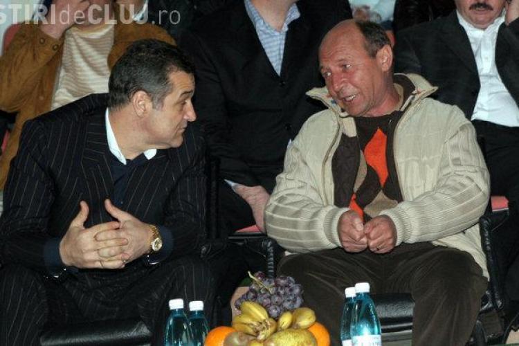 """Băsescu îl ironizează pe Gigi Becali: """"Când o facem de oaie..."""""""