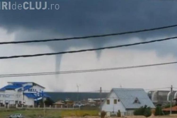 Fenomen meteorologic EXTREM. TORNADĂ pe litoral în România - VIDEO