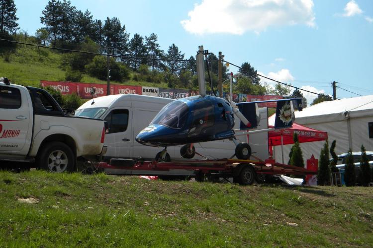 La Peninsula 2013 este și un girocopter! Zborul de 15 minute e cam scump - FOTO