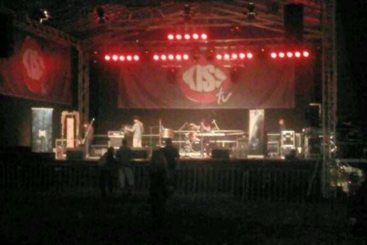Peninsula 2013: Joia seara, la una dintre scene erau câțiva spectatori - VEZI FOTO