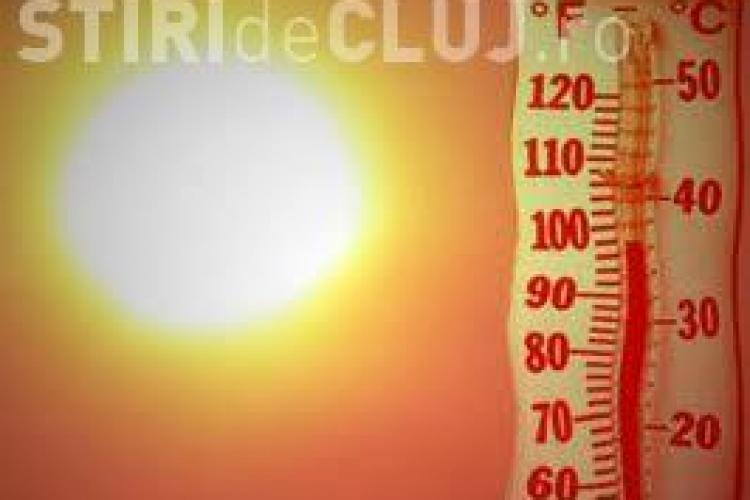 România sub cod PORTOCALIU de caniculă. Vezi cât de cald va fi la Cluj