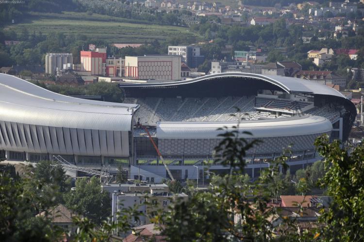 Un delegat UEFA a inspectat Cluj Arena