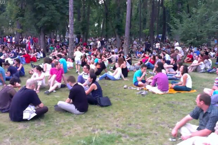 Circa 2.000 de oameni au participat la concertele Jazz in The Park, duminică seara - VIDEO