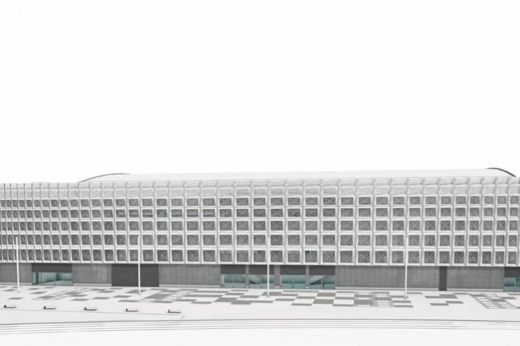 Cum va arăta Sala Polivalentă a Clujului. Simulare făcută de arhitecți - VIDEO
