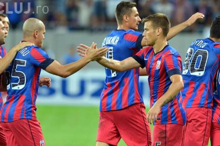 Ce adversari poate întâlni Steaua în play-off -ul CHAMPIONS LEAGUE