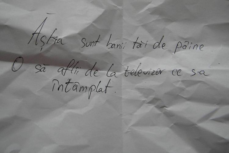 """AMĂNUNTE despre JAFUL de la benzinăria Agip - Florești. Un atacator a lăsat mesajul care l-a dat de gol: """"Ăștia sunt banii de PÂINE!"""""""