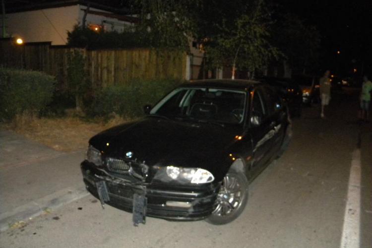 Accident în Gheorgheni! Un șofer rupt de beat cu BMW a lovit 7 mașini lângă Blue Galaxy