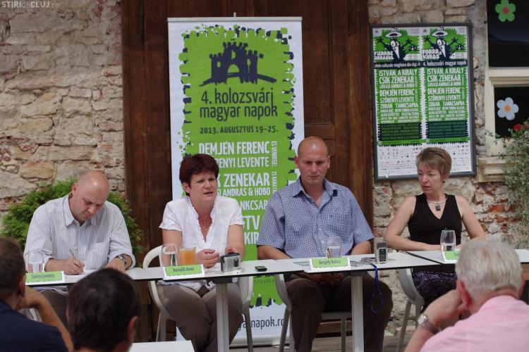 Zilele Culturii Maghiare 2013, la Cluj, în 19 - 25 august. Va fi dezvelită statuia Sf. Gheorghe