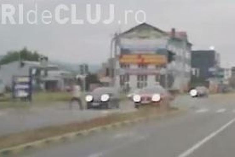 Cum terorizează șoferii clujeni pietonii VIDEO