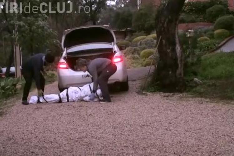 Farsa cu final nefericit: Au vrut să care un cadavru în taxi dar soferul s-a panicat VIDEO