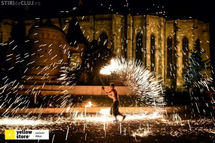 """Peste 15.000 de participanţi clujeni la Festivalul """"Colours of Cluj"""". Va urma o ediție și în 2014 - Galerie FOTO"""